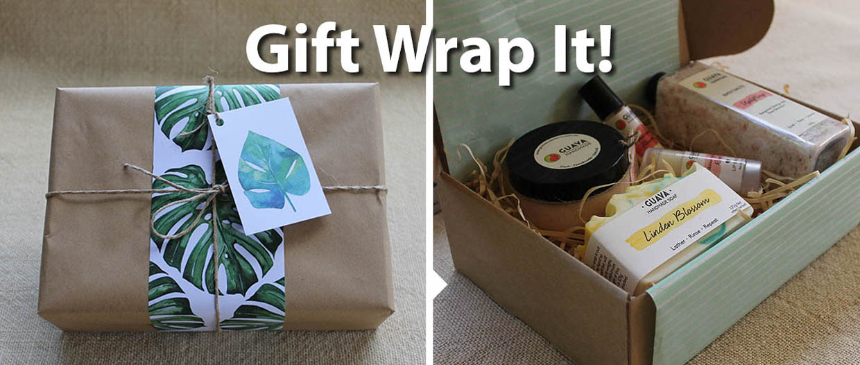 soap and body care gift boxes
