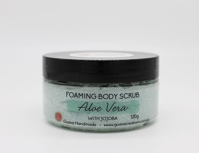 foaming body scrub