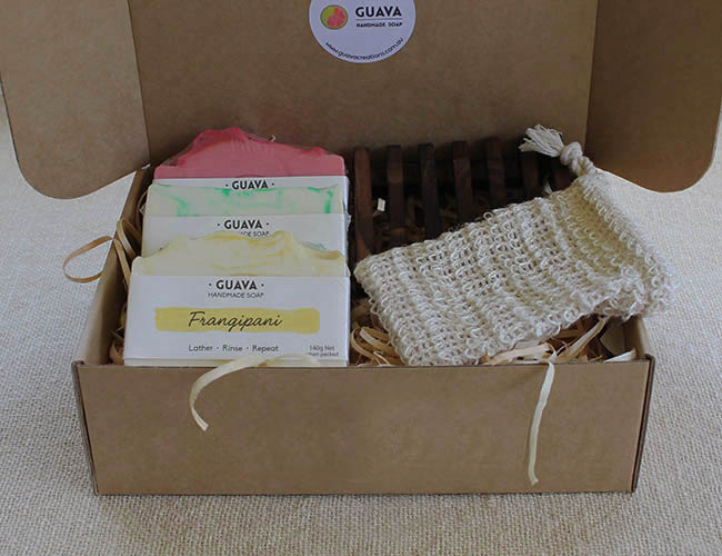 gift box of soap