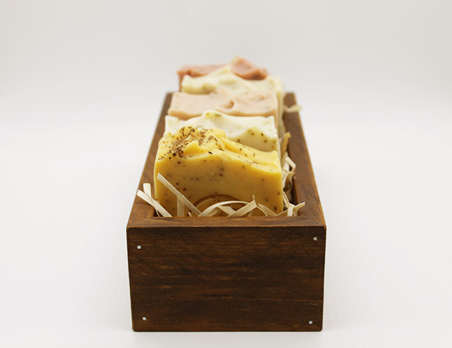 australian botanical soap gift box