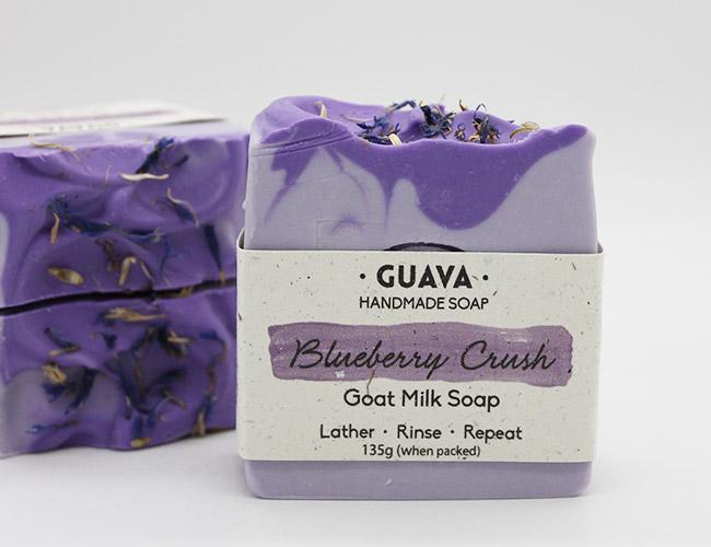 blueberry crush soap