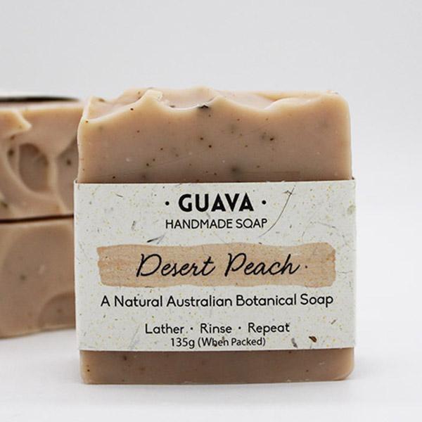 desert peach soap