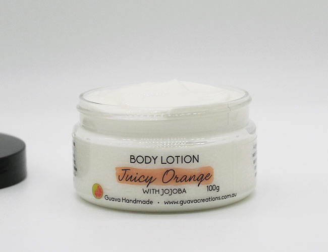 custom body lotion