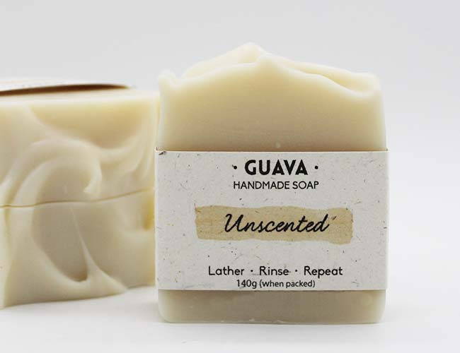 unscented vegan soap